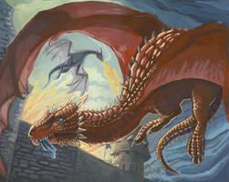 Dragon raid by saeto15