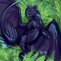 Toothless by saeto15