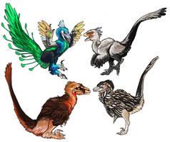 Raptors by saeto15