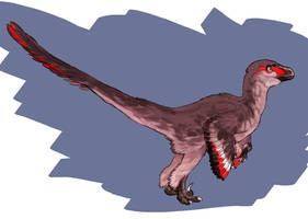 Raptor Red by saeto15