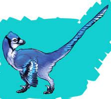 Bluejay Raptor by saeto15