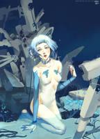 Silent Blue by Dark134