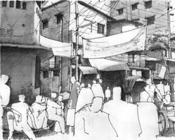 study_khaze dewan lane,dhaka by reesham