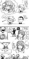 Loose hair - MLB Comic by kaminekoshi
