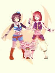 Fairy Tail x Undertale by kaminekoshi
