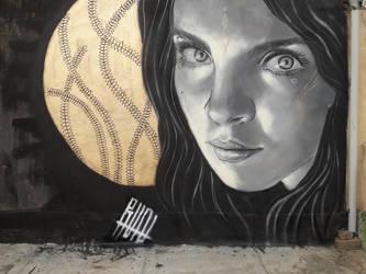 portrait by RUN-StreetArt