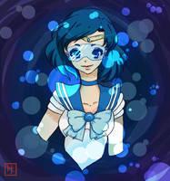 Sailor Mercury: Ami Mizuno by CoralineCaroline