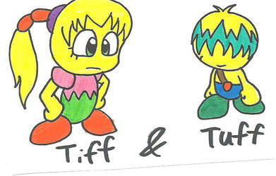Tiff and Tuff by cmara