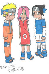 Team 7 waiting by cmara