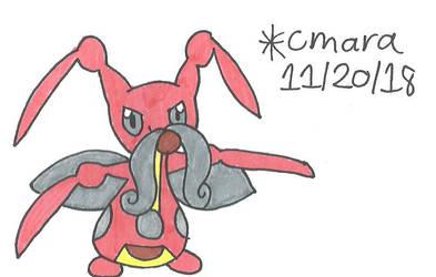 Pokemon: Kricketune by cmara