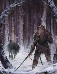 Big Bad Wolf by mf-jeff