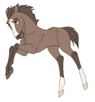 Jumping Foal - Base by Miss-Adopts