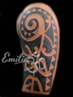Polynesian by EmiliaTattoo