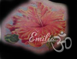 Hibiscus by EmiliaTattoo
