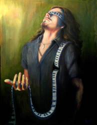 Tuomas Holopainen by TheArtOfRain