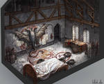 monster hunter` s room by Tottor