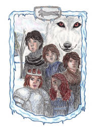 the Stark Children by ares69