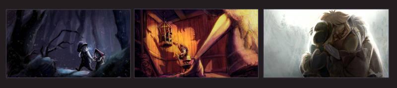 Hansel and Gretel by pupukachoo