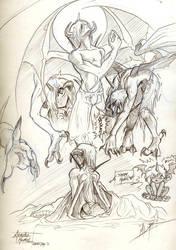 Hamel Sketches 2.0 by pupukachoo
