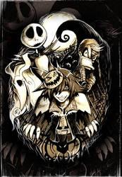 Halloween Town by pupukachoo