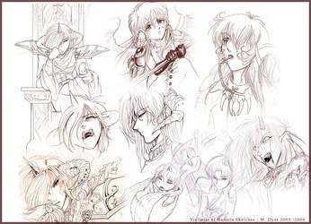 Sketch set - VoH by pupukachoo
