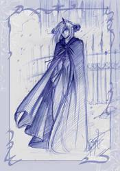 AU - cloak by pupukachoo