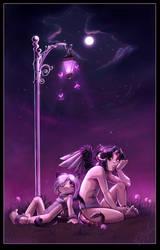 Twilight Skylights by pupukachoo