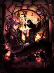 Clockwork Pink by pupukachoo
