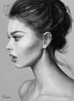 portrait study by Marcsampson