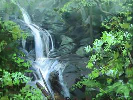 study waterfall by Marcsampson