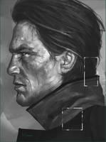 Study Portrait by Marcsampson