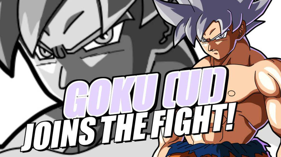 Goku UI Joins The Fight (Fanmade) by littlesackboyDxD