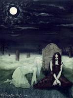 Moonlight Apparition by ElvenstarArt