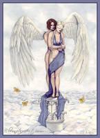 Eros And Psyche by ElvenstarArt