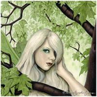 Fairy of the Summer Green by ElvenstarArt