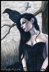 Nevermore by ElvenstarArt