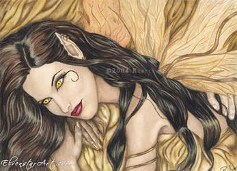 Zarah, The Golden Queen by ElvenstarArt