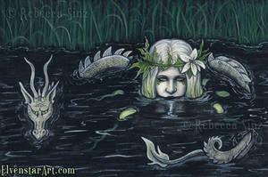 Submerged by ElvenstarArt
