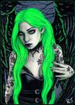 Neon Lime by ElvenstarArt