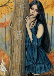 Samhain by ElvenstarArt