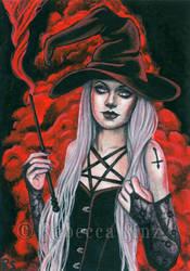 Black Magic by ElvenstarArt