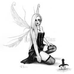 Huntress by ElvenstarArt