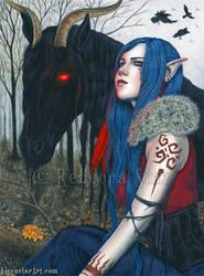 Malevolence by ElvenstarArt