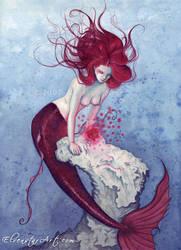 Sea Rose by ElvenstarArt