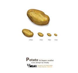 Potato icon by Milaky