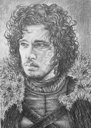 Jon Snow by AlexndraMirica