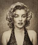 Marilyn Monroe by AlexndraMirica