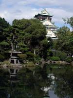 Osaka Castle by Dragonsoar