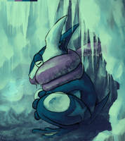 Greninja for Zhoid- PokemonDaily 2013 Secret Santa by Amphibizzy