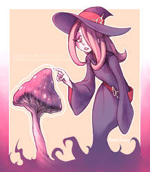 Sucy [Little Witch Academia] by Amphibizzy